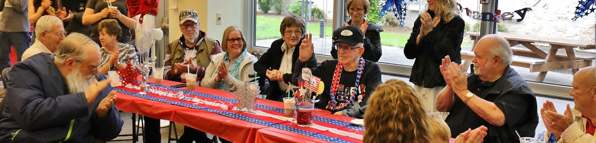 Stanley celebrates his 100th birthday - Port Orchard Veterans Home